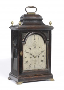 Clock by John Byard. Circa 1790